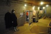 <h5>Stützpunkt Nord i Frederikshavn.</h5><p>Udstillingen var delt op i små rum med hver deres emne.</p>