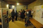 <h5>Stützpunkt Nord i Frederikshavn.</h5><p>Udstillingen var godt besøgt og publikum kunne selvfølgelig røre og pille ved de udstillede effekter.</p>